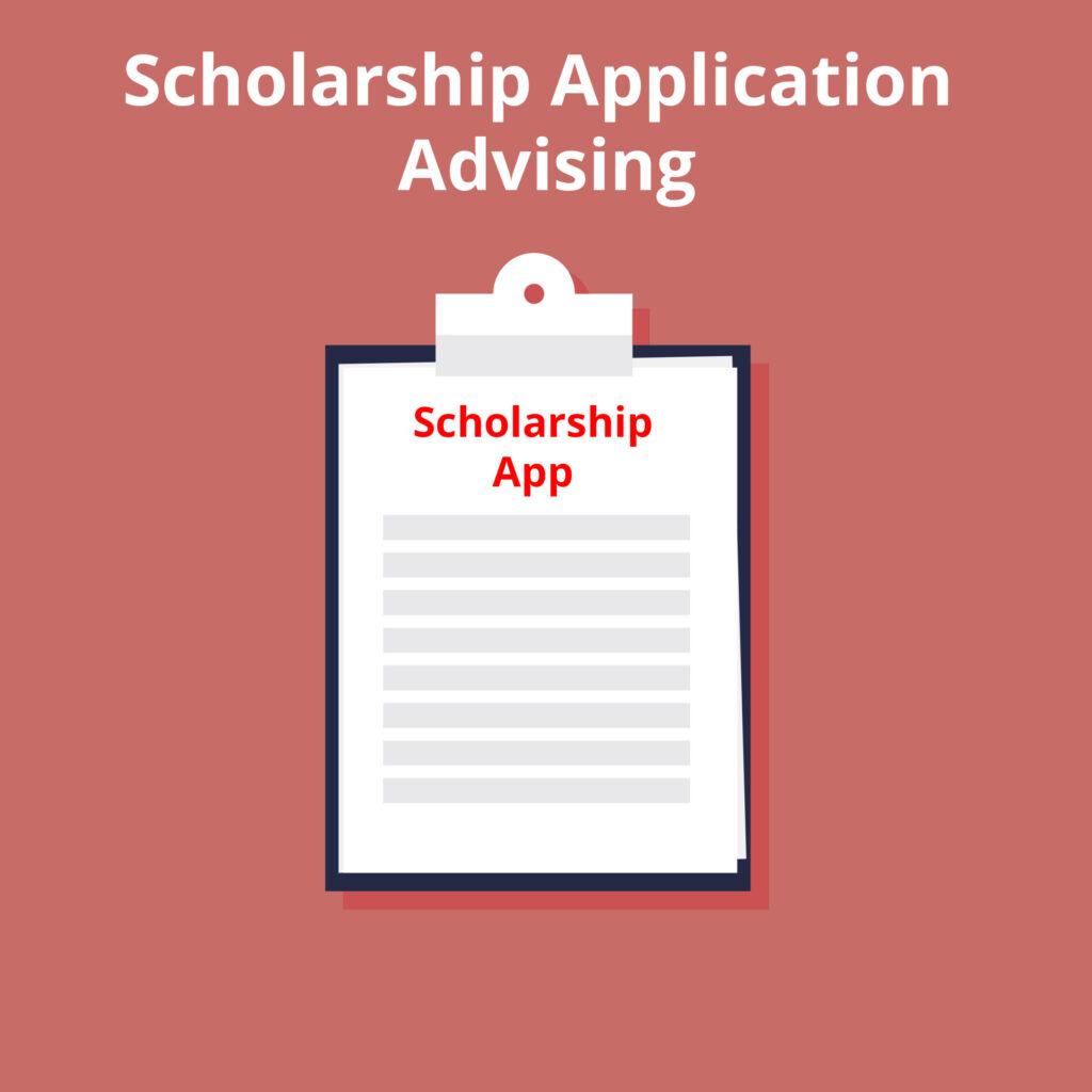 Scholarship Advising - Edits for 1 scholarship