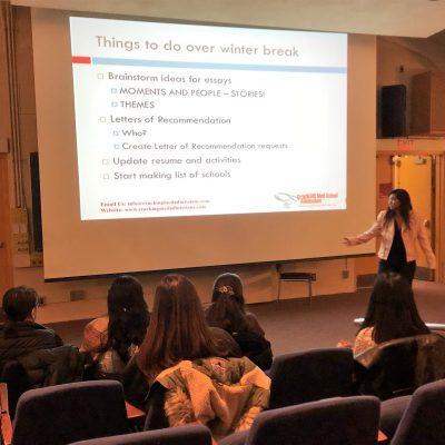 Cracking Med School Admissions Wellesley Talk